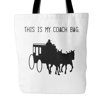 This Is My Coach Tote Bag