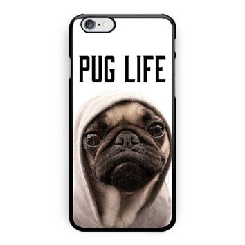 Funny Pug Life iPhone 6 Case