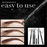 Waterproof Eyebrow Pencil Pen Eye Brow Liner Cosmetic Makeup Beauty Tool Lasting [8072700487]