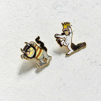 Out Of Print Where The Wild Things Are Pin Set | Urban Outfitters