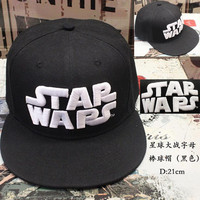 New Hot Recommended Movies Star Wars VII 7 Cool Color Casual Popular Hip-Hop Cap Embroidery Fashion Baseball Hats 04