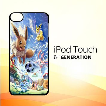 Eevee and Umbreon and Espeon X0915 iPod Touch 6 Case