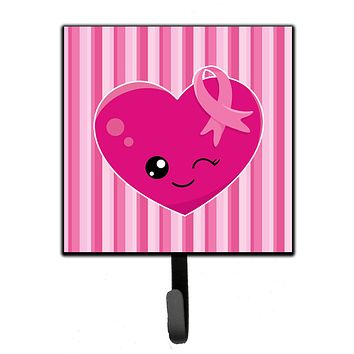 Breast Cancer Awareness Ribbon Heart Leash or Key Holder BB6982SH4