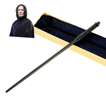 Metal Core Professor Severus Snape Magic Wand Magical Wands Quality Gift Box Packing     for Harri Potter Cosplay