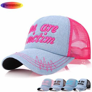 VONG2W Fancy 5 Style hip hop snapback hat canada 5-panel cap women mesh fishing baseball cap russia bones brand trucker caps YW-309