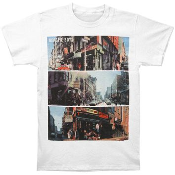 Beastie Boys Men's  City Scenes Regular Mens T T-shirt White