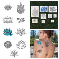 Body, Mind & Spirit - Temporary Tattoo (Set of 18)
