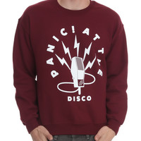 Panic! At The Disco Mic Crewneck Sweatshirt