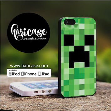 Minecraft Creeper Video Game iPhone 5 | 5S | SE Cases haricase.com