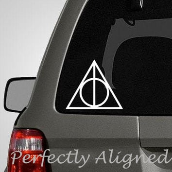 Harry Potter Inspired Deathly Hallow Car Decal