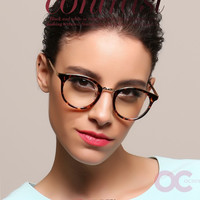 oculos de grau feminino Round Style Trend Vintage Optical Glasses Frame Eyewear for Women and Men