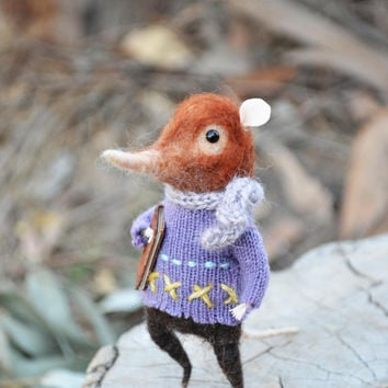 Fairytale Shrew - Felting Dreams by Johana Molina - READY TO SHIP