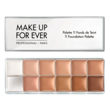 11 Foundation Palette - Foundation – MAKE UP FOR EVER