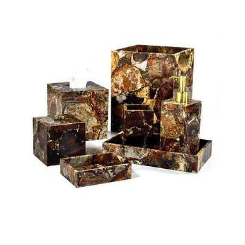 Petrified Wood Bath Collection by Mike + Ally