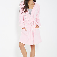 Plush Self-Tie Robe