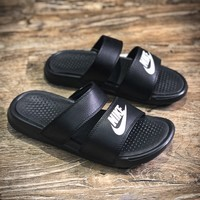 Nike Benassi Swoosh Sandals Style #10 Slippers - Best Online Sale