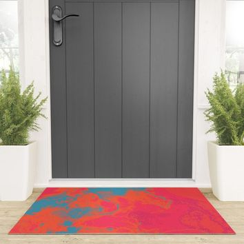 Pixelated Welcome Mat by duckyb
