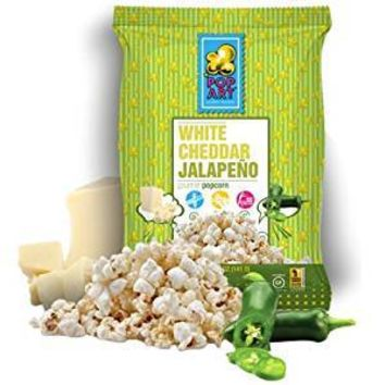 Pop Art Gourmet Popcorn - Whit - Case Of 24 - 1.25 Oz.