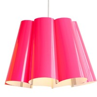 Fluorescent Lampshade - Pink -16%