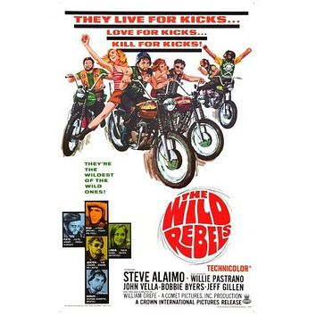 wild rebels poster Metal Sign Wall Art 8in x 12in