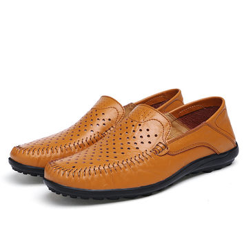 Hollow Out Doug Loafers