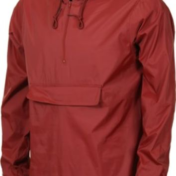 RVCA Public Works Windbreaker - red earth - Men's Clothing > Jackets > Windbreakers