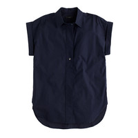 J.Crew Womens Petite Short-Sleeve Popover Shirt