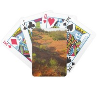 Canyon Hike Bicycle Playing Cards