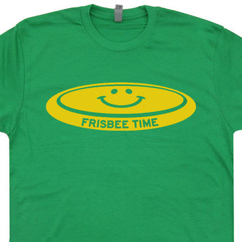 Vintage Frisbee T Shirt Ultimate Frisbee Golf T Shirt