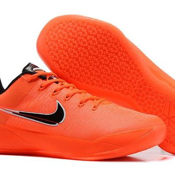 DCCK2 N286 Nike Zoom Kobe 12 A.D EP Actual Combat Basketball Shoes Orange Black