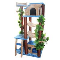 Kitty Mansions Mini Amazon Cat Tree | Furniture & Towers | PetSmart