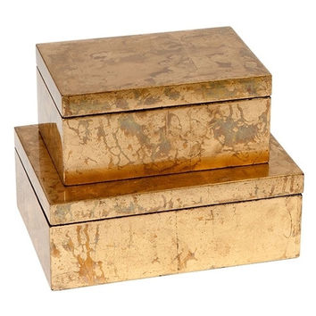 Gold Leaf Boxes