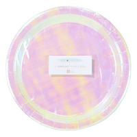 We Heart Pastels Round Plate - Set of 24
