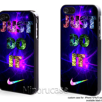 just do it galaxy Custom case For iphone 4/4s,iphone 5,Samsung Galaxy S3,Samsung Galaxy S4 by minorucase on etsy
