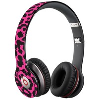 Pink Leopard Decal Skin for Beats Solo HD Headphones by Dr. Dre