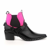 Mandy- Wedge Crossover Boot