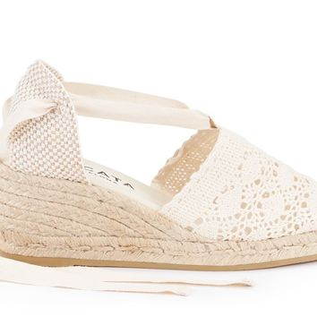 Escala Crochet Wedges - Ivory