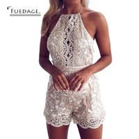 sexy rompers womens jumpsuit cropped backless sleeve lace playsuit bodycon jumpsuit overalls plus size elegant women jumpsuit