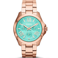 Fossil Cecile Multifunction Mint Dial Watch | Dillard's Mobile