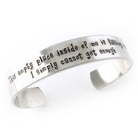 What's This? Cuff Bracelet - Nightmare Before Christmas - Spiffing Jewelry