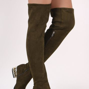 Linked Up Thigh High Boots