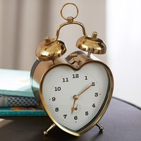 Emily & Meritt Heart Clock | Pottery Barn Kids