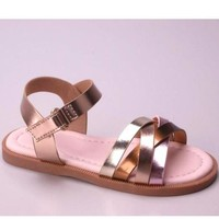 Little Miss Metallic Sandals