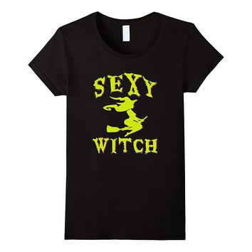 Sexy Witch Shirt | Sexy Witch Halloween Costume T-Shirt