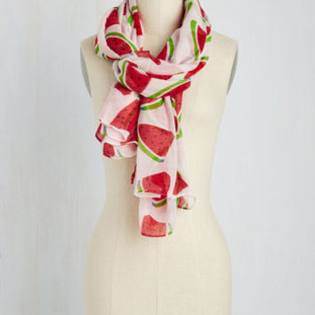 Rise and Rind Scarf | Mod Retro Vintage Scarves | ModCloth.com