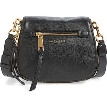 MARC JACOBS 'Small Recruit' Pebbled Leather Crossbody Bag   Nordstrom