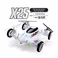 Quadcopter Car Drone Plane 8CH 6-Axis Flying Speed Switch