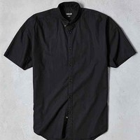 ZANEROBE Rugger Short-Sleeve Button-Down Shirt