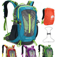 Women Men Outdoor Waterproof NEW 50L Backpack Hiking Bag Camping Travel Rucksack
