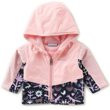 Columbia Steens Mt Baby Girls 3-24 Months Overlay Hoodie | Dillards